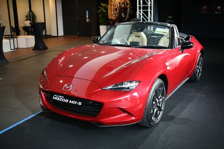 The latest 'ND' generation MX-5 was launched in Singapore at Eurokars' new $28 million Mazda Flagship Centre at Ubi, which will be a one-stop shop for customers with sales, servicing and spare parts services.