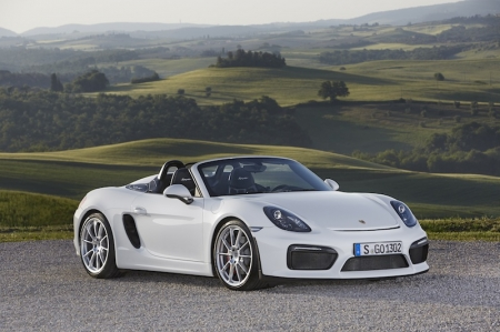 According to Porsche, the Boxster Spyder is engineered to be a 'radical return' to the roots of the roadster. It is meant to be 'purist, unfiltered and evocative', to go back to a time when few choices were available. Whatever it is, us here at Burnpavement find it both stylish and svelte; at the same time, sophisticated too. Imagine showing up at exclusive events in this…