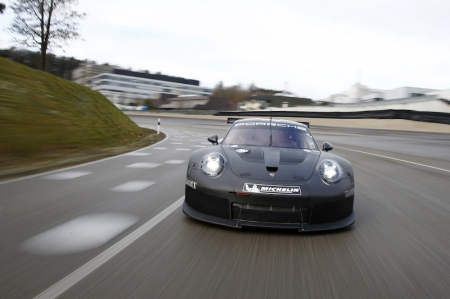 "The first outing of the RSR successor is planned for January 2017 at the 24-hour race at Daytona. ""The race debut of a completely new vehicle at a 24-hour race is a big challenge. But we are right on schedule,"" explains the Head of Porsche Motorsport, Dr Frank-Steffen Walliser."