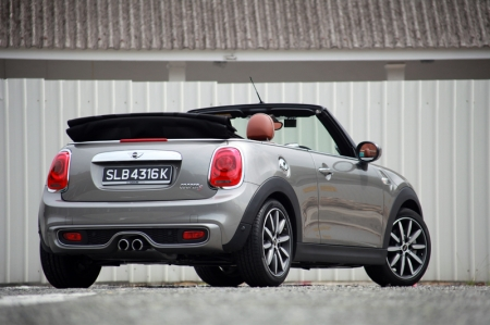 What is this?Meet the new convertible Cooper S. It's the fourth variant - in the current F56-generation MINI line up - to be introduced here, after the Cooper S, Cooper S 5-door and Cooper S Clubman.