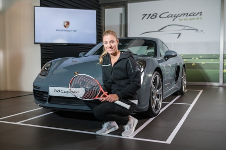 Launched to great fanfare in an exclusive media event at Porsche Centre Singapore, the all-new 718 Cayman was unveiled by Porsche brand ambassador and World Number One in professional women's tennis - Angelique Kerber.