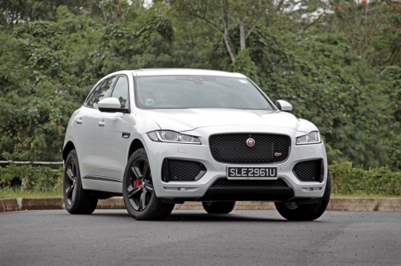 The F-Pace, mind you, has no reference point. You want to think it feels just like a taller XE, but from an engineering point of view, that's akin to asking Gordon Ramsay to have his dinner at, say, McDonalds – it just doesn't make any sense.