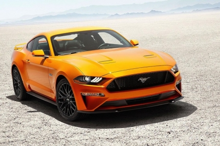 "The company is also dropping its 3.7-liter V6 engine, which officials say account for roughly 15 percent of sales, in favor of the turbocharged 2.3-liter EcoBoost and 5.0-liter V8. Ford's new 10-speed automatic transmission, which debuted last year on the F-150, will come as an option with both engines too. The 2018 Mustang went on display Tuesday at the 2017 Detroit auto show and was unveiled at other events in Los Angeles and New York.""The new Mustang is our best ever, based on more than 50 years as one of the iconic sports car in America and now, the world,"" said Joe Hinrichs, Ford's president of the Americas, said in a statement."