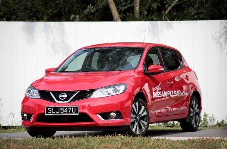 Now here's contestant number ten: The Spain-assembled Nissan Pulsar.