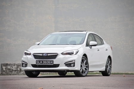 And so today we have the new Impreza with us. Based on photos alone, you might think the new Subaru Impreza is just another Impreza; you know, with the usual ingredients namely a regular family car with four-wheel drive. Full stop.