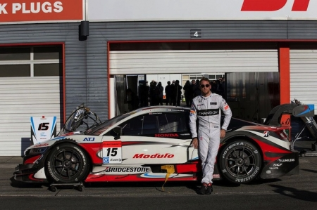 """The 2009 Formula One World Champion will take his first drive in the Team Mugen NSX-GT at the Suzuka Circuit between 6th to 7th June for tyre testing. """"I am delighted to have the opportunity to race a NSX-GT at the prestigious Suzuka 1000km. Last year in December, I really enjoyed driving the NSX Concept GT at Honda Racing Thanks Day, and since then have been itching to drive it in a championship race,"""