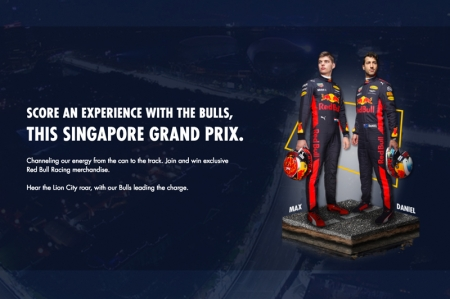 Aside from the Meet & Greet session, there are also exclusive Red Bull Racing merchandise to be won. So hurry and grab your chance now or you'll be seeing red, and that's no bull.