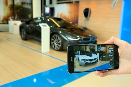 The BMW i Visualiser App is the latest innovation in the BMW Group's Future Retail programme, which began rolling out around three years ago and which has transformed the customers' experience of buying a car.