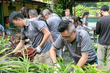 "The volunteering program is part of the tyre manufacturer's continuous effort to give back to society in countries that the company operates - a tenet of the company's global corporate social responsibility commitment, ""Our Way To Serve."""