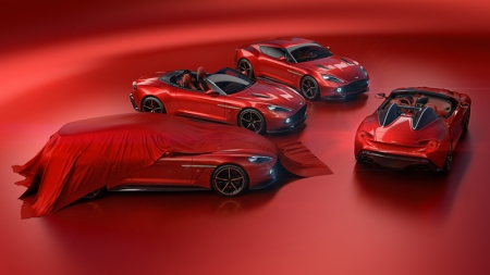 Production of the Vanquish Zagato family is limited to 325 cars in total, with 99 each of the Coupe, Volante and Shooting Brake models to be built. The Vanquish Zagato Speedster will be the most rare, with a 28-car production run.