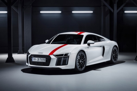 """The R8 V10 RWS is made for purists; a limited-edition special model for customers with an appreciation for essential driving enjoyment,"" says Stephan Winkelmann, CEO of Audi Sport GmbH. Indeed, as the R8 V10 RWS Coupé weighs 50 kg less than the regular all-wheel drive R8 V10 Coupé coupled together with chassis and handling tuning adapted for rear-wheel drive, provides for incredibly fun driving."