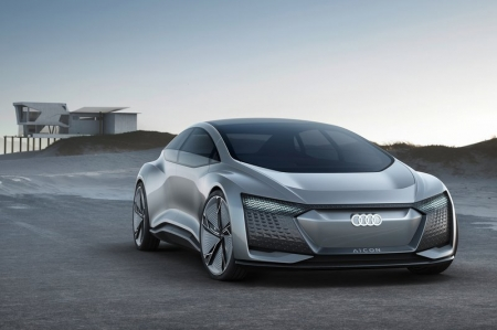 Being a design study, it glimpses the exterior design of the next decades and looks spectacular in the process. Measuring 5,444mm from front to rear, and with a wheelbase of 3,470mm, it is actually longer than Audi's flagship long-wheelbase A8 by 240mm.
