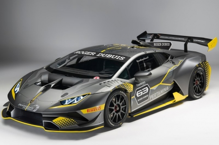 Improving on the outgoing Huracán LP620-2 Super Trofeo, the Huracán Super Trofeo EVO features entirely redesigned aerodynamics, new safety devices, as well as several improvements in the mechanical and electronic fronts.