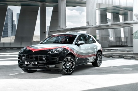 With an additional 40 horsepower squeezed from the twin-turbo 3.6-liter V6, the Macan Turbo Performance Package whacks out 440 bhp and 600 Nm of torque. Making this one quick SUV. 0-100 km/h flies in at 4.4 seconds and a top speed of 272 km/h means a rocket-ship ride for daddy and all onboard.