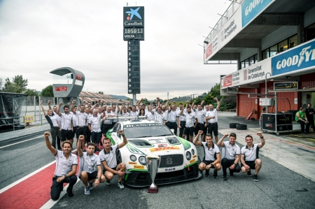 "Bentley's Director of Motorsport, Brian Gush commented, ""Securing the Endurance Cup Teams title is testament to the hard work that every single member of Bentley Motorsport and Bentley Team M-Sport has put in to this season. We'll be back next year aiming to go one better and secure the driver's title too."""