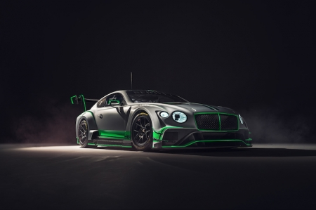 Development of the new car was led by the engineers of Bentley Motorsport's in-house team based in Crewe, together with designers and technicians at Bentley's motorsport technical partner, M-Sport. The new Continental GT3 has been designed from the all-new Continental GT road car, utilising it's mostly aluminium structure as the foundation to deliver a race-ready weight of significantly less than 1,300 kg and helping to deliver an ideal weight distribution for racing.