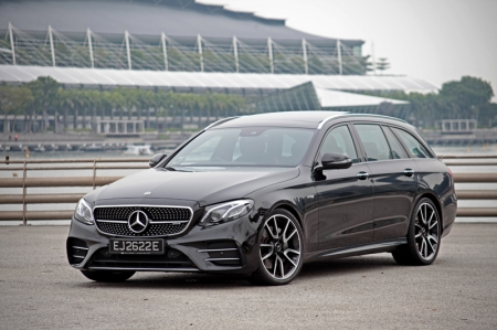 And perhaps, Mercedes has been observing this plot very closely — which is why they\'re giving us a very fast wagon, in the form of this E43 Estate.
