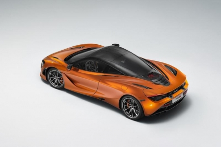"The 33rd edition of the so-called ""Fashion Week for cars"" took place next to the famous Hôtel des Invalides, with over 600 guests present to admire the 720S in Azores Orange. The award was given by a jury of 17 members from a diverse range of industries, who named the 720S the Most Beautiful Supercar of the Year 2017 against fierce competitions like Aston Martin's V8 Vantage, Ferrari's Portofino and the Porsche Panamera."