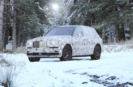 After the Phantom, the Cullinan is the second Rolls-Royce to sit atop the company's recently announced all-new aluminium spaceframe, 'Architecture of Luxury'.