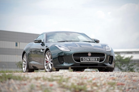 But if you're the sort who wants to steer clear of the usual suspects and want something different, well, this Jaguar F-Type Coupe should be right up your alley.