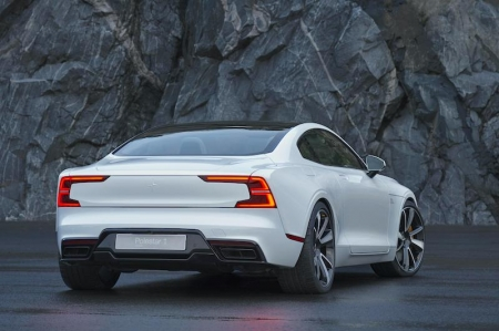 The Polestar 1 is an electric performance hybrid GT coupé which produces 600 horsepower and 1,000 Nm of torque, while offering 150 km of pure electric driving range - this is the longest of any hybrid car in the world, to date.
