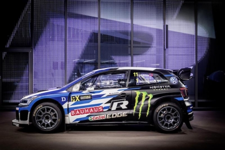 The 570 hp four-wheel drive powerhouse for the FIA World Rallycross Championship (WRX) has a new look, as well as optimised aerodynamics. The new exterior makes this year's Polo R Supercar easy to distinguish from its predecessor.