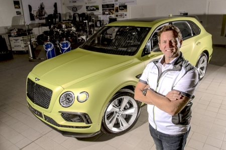 Aiming to break the existing Production SUV record of 12:35.61, the Bentayga will need to average a minimum 97 km/h up the exceptionally tight and twisty 156-corner course. Pikes Peak represents the next challenge for the Bentayga, following Betley's tradition of testing its cars in extreme environments that has seen the Continental GT set records of 330 km/h on ice, and over 290 km/h on sand; not forgetting an unmodified Continental GT Speed that tackled a stage of the World Rally Championship.