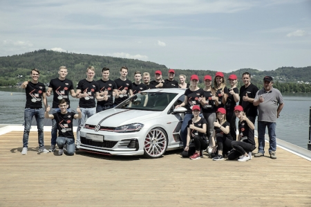 VW apprentices develops special Golf GTI