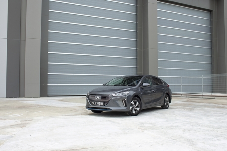 So what exactly has been done to make this already-efficient car even more efficient? Hyundai took the Chapman route and added lightness, shaving 12 kg off the Ioniq's kerb weight. This weight savings comes courtesy of the upgraded alternator management system — allowing the car to dispense with an auxillary 12-volt battery, bringing about an increase in fuel economy and more space in the boot.