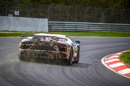 Development of the car included significant CFD simulation to optimize the ALA performance, with the exceptional downforce requiring an entire rework of the Aventador's active and passive dynamic systems to exploit the car's physical boundaries. Developing ALA strategies for the Aventador SVJ through both static and dynamic virtual simulations, a virtual attempt at the Nürburgring Nordschleife already returned a better lap time than the Lamborghini Huracán Performante.