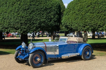 The Best in Show-winning Mercedes-Benz S-Type Barker 'Boat Tail' is based on the 1927 Mercedes S-Type; it was one of the most powerful road-going automobiles in the world during that period, developed as the perfect road-going, race capable car.