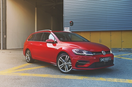 From the time it was first introduced here some four years ago, the Volkswagen Golf Variant was always only available in R-Line form. Perhaps the sporty trim was specced to help alleviate the age-old perception that estate cars look like hearses? I would never know.