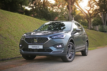 Well that's where the 7-seater SUV we have here today, really excels in. The SEAT Tarraco is the Spanish marque's largest SUV, completing the range that include the Arona and Ateca.