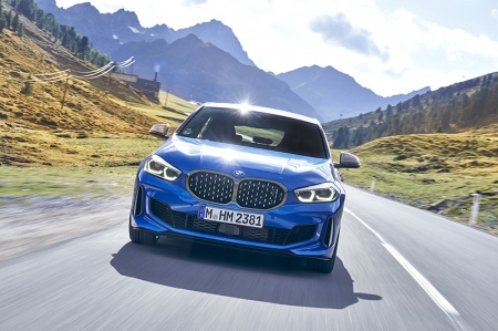 We're carving some seriously beautiful (but narrow) mountains roads from Munich to Austria as we sample two variants, the 118i diesel and the M135i, from BMW's new 1 series, now dubbed 'The 1', by the brand.
