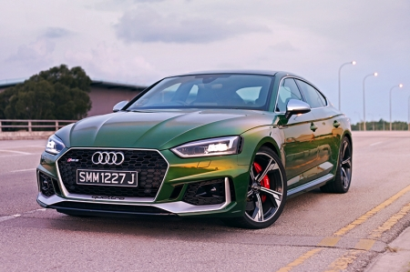 Gimme a high five | Audi RS5 Sportback