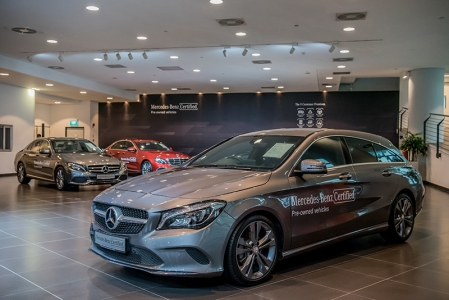 Under the Mercedes-Benz certification, owners can be confident that the vehicle technical standards are strictly adhered to. This means that every vehicle's exterior, interior, mileage and service record are reviewed thoroughly by trained technicians (by Mercedes-Benz authorized dealer Cycle & Carriage) to ensure optimal vehicle performance and condition.