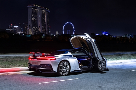 The stunning Pininfarina Battista was here in Singapore for a quick preview in preparation of its arrival in 2020. The full-electric hypercar holds the accolade of being the most powerful road-legal car ever designed and built in Italy.