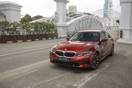 The 3 Series has long been a stalwart of the fiercely competitive compact executive sedan segment; with Singapore's vehicle tax structure generating consistently healthy sales for its entry level models. Buyers are happy with a premium badge on the nose, for just a slight premium over alternative Asian makes.