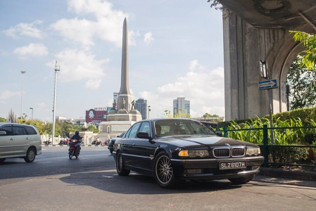 It all began with conversation about how our friend's recently-acquired BMW 728i (E38) was an excellent mile muncher. Before we knew it, Google Maps was pulled out, and these words set us past the point of no return.