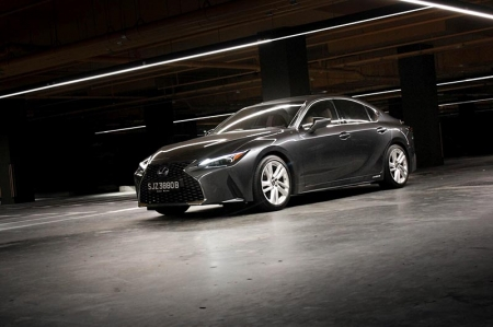 With such a massive transformation, you'd expect this is an all-new car we're talking about here. But no; the 2021 Lexus IS is technically still the same 3rd-generation model that debuted in 2013.    The interior, for example, is almost unchanged, save for the infotainment system featuring new software, adopting Android Auto/Apple CarPlay connectivity, being moved 15cm closer to the driver, and most importantly, capable of touch operation.