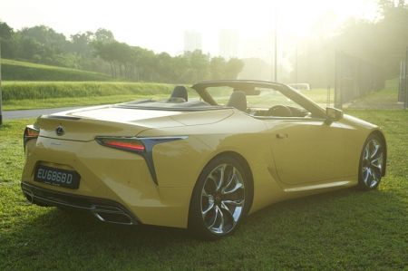 This LC 500 Convertible however is really the one to go for. It's engine is now a precious commodity wrapped in a sexy body that turns more heads than a Ferrari. Not only did it attract attention during the three days I spent with this car, it seemed to evoke the right kind of curiosity. Some supercars make you feel self-conscious – at least for me – you feel the on-lookers' gaze of envy, jealousy or even ridicule as they think you're trying too hard.    With the LC 500 Convertible however, passers-by waved, smiled or even stopped by to find out more about the car. You feel like it had some part in making their day. As at least it certainly made mine.