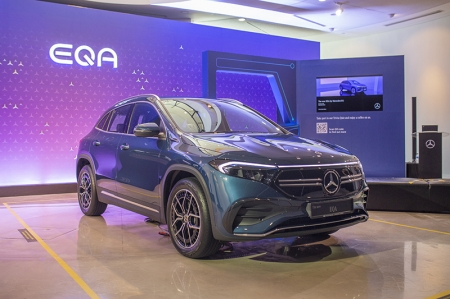 By next year, they intend to have an electric offering in each segment. And, by 2025, there'll be an electric variant of every model they make. The end goal is to have a lineup that's completely electric (or at least a plug-in hybrid) by 2030.   Of course, this goal of electrification really depends on the EV infrastructure of each of their consumer markets. In Singapore, this goal seems achievable, given the Government's Green Plan that aims to put 60,000 EV charging points nationwide.    I wanna be part of this!   Already thinking of going electric? Mercedes-EQ has you covered with the new EQA.