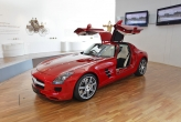 SLS is AMG's first ever totally independently developed car and is the Official F1™ Safety Car in Formula 1.