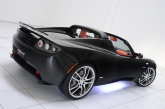 The goal of the BRABUS customization concept for the Tesla Roadster is to define a potential limited edition as well as an individual tuning program for the Tesla driver.