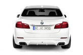 Acoustically, the AC Schnitzer versions of the BMW 550i, 535i, 535d and 530d are enhanced with the twin sports rear silencer with its chromed