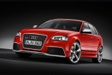 Each Audi RS model represents the pinnacle of its model line - the Audi RS3 Sportback, developed by quattro GmbH, now brings this dynamic philosophy to the compact category. It rockets from a dead stop to 100 km/h in 4.6 seconds. Top speed is electronically limited to 250 km/h. The guttural roaring and growling, backed by the signature rhythm of the five-cylinder firing order make up the classic Audi soundtrack. A sound flap in the exhaust branch intensifies the sound even further. The flap is controlled via the standard Sport button, which also varies the engine response.