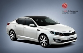 "This year, the judges bestowed the awards on the Kia Sportage compact CUV and Kia Optima sedan. The new mid-size Kia Optima sedan was also awarded the 2011 red dot ""best of the best"" title.