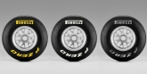 In order to make the differences between the prime and option tyre more pronounced, Pirelli's strategy is to offer a step of at least one compound between the tyres nominated for each race. If the track conditions require it though, this strategy may be revised. The prime and option tyres for the first three grands prix of the year - Australia, Malaysia and China - will be hard and soft compounds, meaning that silver and yellow tyres will be first to make an appearance in Melbourne.