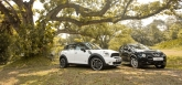 In the looks department, the Juke beats the Mini by having a much bolder design. Full of curvaceous styling, complete with steep angles, the Juke seemingly looks like the newer model when compared to the Countryman. With that said however, the more conventional-looking Countryman has an air of a classic styling around it. It also looks stouter than the Juke, with its squared-off face and non-sloping roof line.