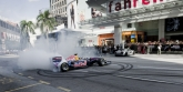 The Red Bull Speed Street Singapore event comes hot on the heels of the similar named show run in Kuala Lumpur on 3 April, which saw Coulthard entertain a peak period shopping crowd along Jalan Bukit Bintang, the Malaysian capital's main shopping street by giving a demonstration of the awesome power of a Formula One car against the unusual backdrop of mega malls and five star hotels. The Red Bull Speed Street Singapore show run will follow in a similar vein with the Scot racing down an 800 metres stretch of Orchard Road starting from the ION Orchard/Marriott Singapore in a showcase which will last about an hour. The public can expect manoeuvres such as short sprints, burnouts and donuts, which one won't get to see often in actual Formula One races. The event will feature three runs by the Formula One car as well as two filler shows featuring the Audi R8 LMS driven by Malaysian former Formula One driver Alex Yoong.